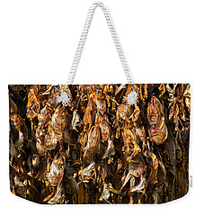 Drying Fish Heads - Iceland Weekender Tote Bag