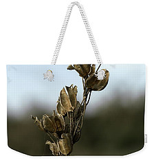 Drying Flower Weekender Tote Bag by Shlomo Zangilevitch