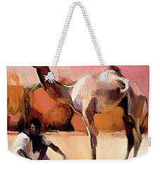 dsu and Said - Rann of Kutch  Weekender Tote Bag by Mark Adlington