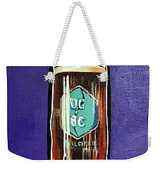 Dual Citizen Weekender Tote Bag