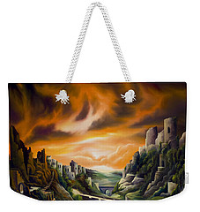 Duallands Weekender Tote Bag by James Christopher Hill