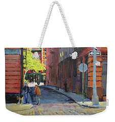 Duane Park From Staple Street Weekender Tote Bag