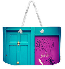 Dublin, Ireland Door Weekender Tote Bag
