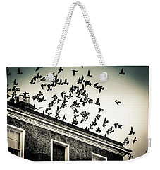 Flight Over Oscar Wilde's Hood, Dublin Weekender Tote Bag