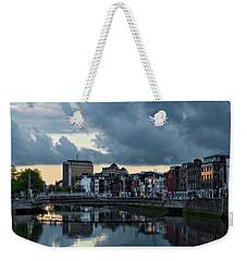 Dublin Sky At Sunset Weekender Tote Bag