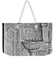 Dubrovnik Wall Art - Black And White Weekender Tote Bag