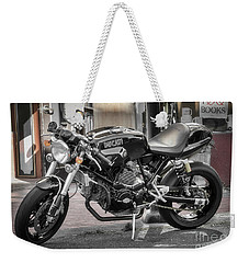 Weekender Tote Bag featuring the photograph Ducati Sport 1000 by Mitch Shindelbower