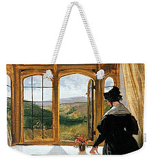 Duchess Of Abercorn Looking Out Of A Window Weekender Tote Bag