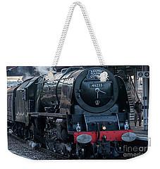 Duchess Of Sutherland Weekender Tote Bag by David  Hollingworth