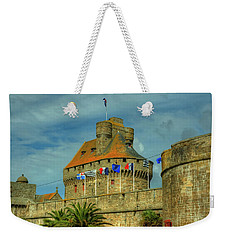 Weekender Tote Bag featuring the photograph Duchesse Anne's Castle by Elf Evans