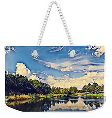 Duck Creek Weekender Tote Bag