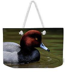 Duck Drip Weekender Tote Bag by Steve McKinzie