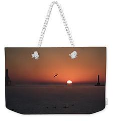Duck Duck Goose Weekender Tote Bag
