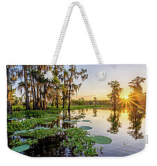 Duck Lake Sunrise Weekender Tote Bag