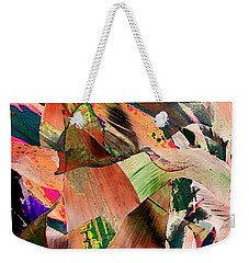 Duck Leaf Weekender Tote Bag