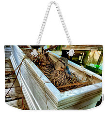 Duck On The Dock Weekender Tote Bag