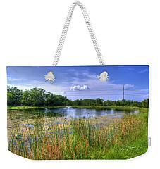 Duck Pond Weekender Tote Bag by Ricky Dean