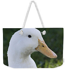 Weekender Tote Bag featuring the photograph Duckie by Tara Lynn