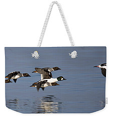 Duckin Out Weekender Tote Bag by Randy Hall
