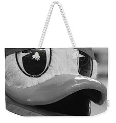 Ducking Around Weekender Tote Bag by Laddie Halupa