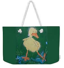 Duckling 3 Weekender Tote Bag by Terri Einer