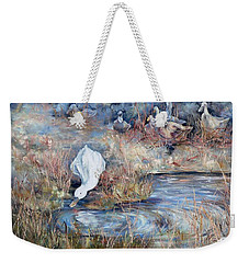 Ducks. Split Opposite Colour Harmony.  Weekender Tote Bag