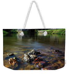 Ducks View Of Mabry Mill Weekender Tote Bag