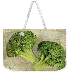 Due Broccoletti Weekender Tote Bag by Guido Borelli