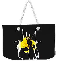Duel Weekender Tote Bag by Asok Mukhopadhyay