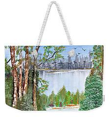 Dueling Lakes Weekender Tote Bag
