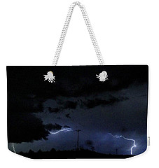 Dueling Lightning Bolts Weekender Tote Bag