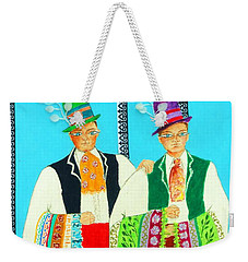 Duet -- #5 Hungarian Rhapsody Series Weekender Tote Bag