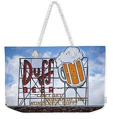 Duff Beer Sign Weekender Tote Bag