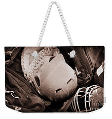 Dug Out Bug Out Weekender Tote Bag