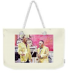 Duke Ellington And Johnny Hodges Weekender Tote Bag