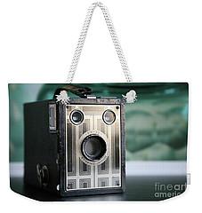 D'un Autre Temps...vintage Art Deco Brownie  Weekender Tote Bag