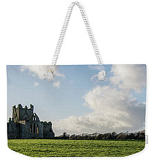 Dunbrody Abbey Weekender Tote Bag by Martina Fagan