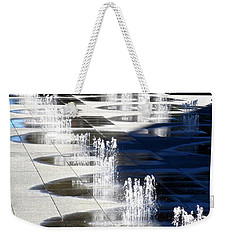 Dundas Square 1 Weekender Tote Bag by Randall Weidner