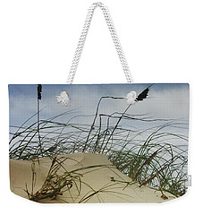 Dune And Beach Grass Weekender Tote Bag by Randall Nyhof