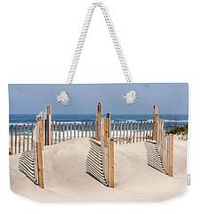 Dune Fence Landscape Weekender Tote Bag
