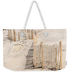 Dune Fence Portrait Weekender Tote Bag