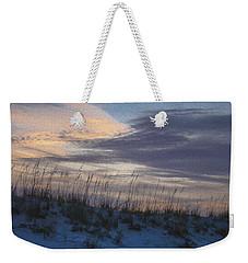 Dune Grass Blue Weekender Tote Bag