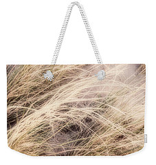 Dune Grass Nature Photography Weekender Tote Bag by Ann Powell