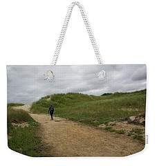 Weekender Tote Bag featuring the photograph Dune Path by Michael Friedman