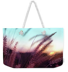 Weekender Tote Bag featuring the photograph Dune Scape by Laura Fasulo
