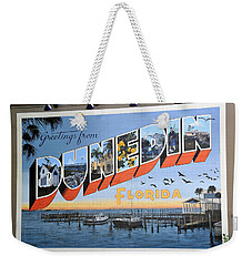 Dunedin Florida Post Card Weekender Tote Bag