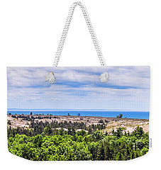 Dunes Along Lake Michigan Weekender Tote Bag