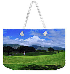 Dunes At Maui Lani Scenery Weekender Tote Bag