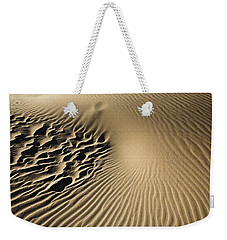 Dunes Footprints Weekender Tote Bag