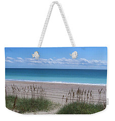 Weekender Tote Bag featuring the photograph Dunes On The Outerbanks by Sandi OReilly
